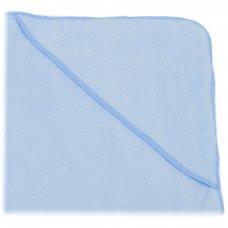 HT10-B: Plain Blue Hooded Robe