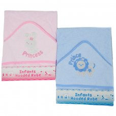 HT16-PB: Infants Prince/Princess Hooded Robe