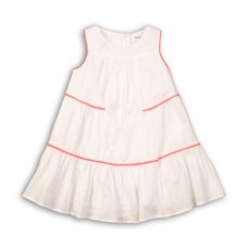 Hut 1: Gathered Panelled Dress (9 Months-3 Years)