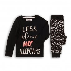 HWX 200P: Girls More Sleepovers Pyjama Set (8-13 Years)