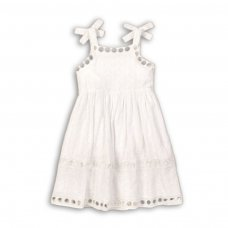 Hydrangea 1: Broderie Anglaise Dress (3-8 Years)