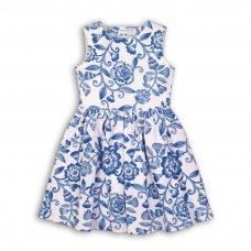 Hydrangea 6: Floral Printed Jacquard Dress (3-8 Years)