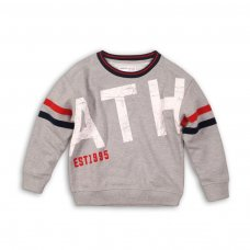 Hudson 7P: Sweatshirt With Distressed Print (8-13 Years)
