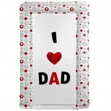 I ♥ Dad Changing Mat