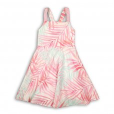 Island 5: All Over Print Woven Dress (3-8 Years)