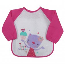 J10017: Cat Long Sleeve Terry Towelling Bib