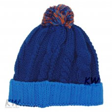 J10697: Baby Cable Knit Bobble Hat (6-24 Months)