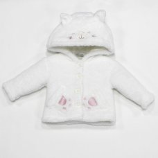 L2102: Baby Cat Padded Fur Jacket (3-12 Months)