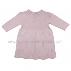 K12805: Baby Girls Knitted Dress (0-12 Months)