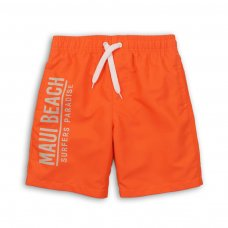 KB BOARD 11: Maui Beach Print Board Swim Shorts (3-8 Years)