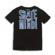 KB TSHIRT 19: Skate Of Mind Rolled Sleeve T-Shirt (3-8 Years)