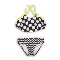 KG BIKINI 1: Spots/Zigzag Frill Bikini (3-8 Years)