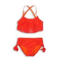 KG BIKINI 2: Crochet Frill Tassel Detail Bikini (3-8 Years)