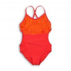 KG SWIM 11: Plain Tassel Detail Swimsuit (3-8 Years)