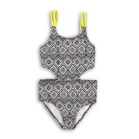KG SWIM 13: Hipster Cross Over Strap Swimsuit (3-8 Years)