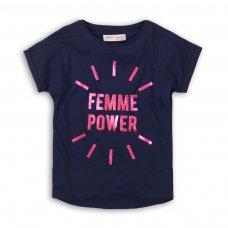 KG TEE 17P: Femme Power T-Shirt (8-13 Years)