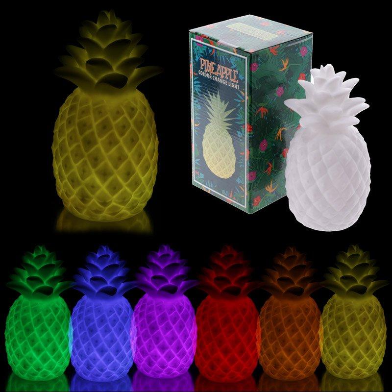 LED12: Pineapple LED Colour Change Light