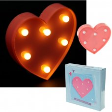LED28: Heart Shaped LED Light Decoration