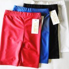Lycra Stretch Shorts - Red