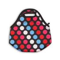 Lunch 1: All Over Print Spotty Lunch Bag