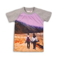 Luxe 11: Raglan Photo Print T-Shirt (3-8 Years)