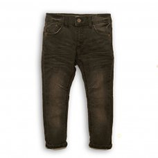 Land 9: Dark Wash Knitted Denim Jean (3-8 Years)
