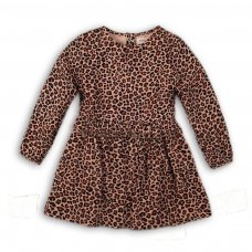 Leopard 3: Fleece Leopard Print Dress (9 Months-3 Years)