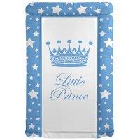 Blue Big Crown Prince Star Changing Mat