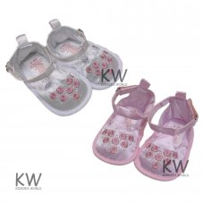 M14854: Baby Girls Shoes (0-12 Months)