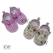 M14860: Baby Girls Shoes (0-12 Months)