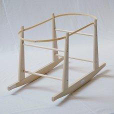 Natural Moses Basket Rocking Stand