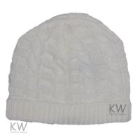 MC1822C: Baby Cream Knitted Hat (0-9 Months)