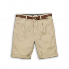 Med 10P: Woven Smart Short With Belt (8-13 Years)
