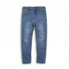 Merge 10P: Skinny Denim Jean With Diamante / Pearl Detail (8-13 Years)