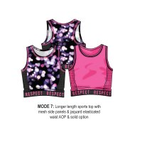 Mode 7: Sports Bra (3-8 Years)