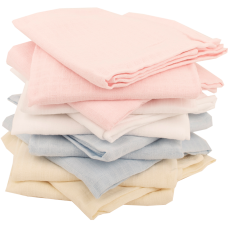 3 Pack Baby Soft Muslin Squares