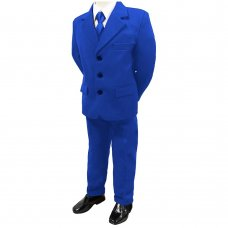 Royal Blue 5 Piece Formal Suit