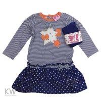 N15606: Baby Girls Star Mock 2 Piece Dress & Tights Set (3-24 Months)