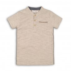 Nomad 2: Striped Henley Top (3-8 Years)