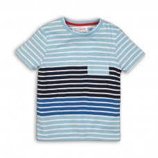 Nomad 5P: Crew Neck Striped T-Shirt (8-13 Years)