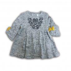 Owl 7: Soft Fleece Dress (0-12 Months)