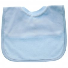 P4633: Plain Blue Pop-On Bib