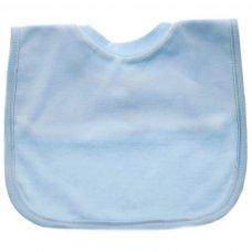 P4633: Plain Blue Pop-On Bib