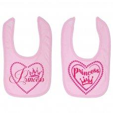 P4707-P: Princess Velcro Bib