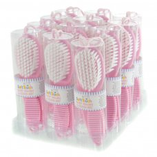 P604-P: Pink Brush & Comb Set