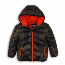 PAD 18: Boys Camo Puffa Jacket (3-8 Years)