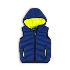 PAD 8: Boys Royal Blue Gilet (9 Months-3 Years)