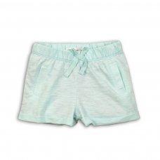 Palm 7: Slub Jersey Shorts With Turn Up Hem (1-3 Years)
