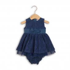 Paris 3: Lace Dress And Knickers Set (0-12 Months)