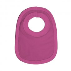 PB-Cerise: Plain Cotton Pullover Bib